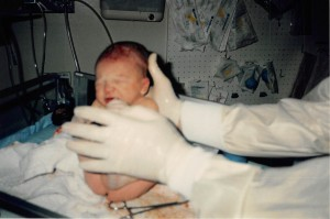 10.10.94 Jeremy at birth