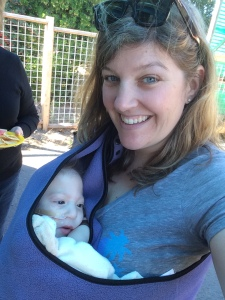 My friend Stacey, and her beautiful boy Gideon.