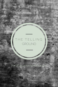 THE TELLING GROUND COVER